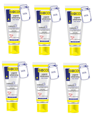 Biocos FaceWash For Clear Skin (Pack of Six)
