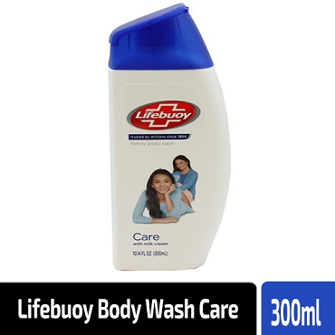 Lifebuoy Body Wash Care With Milk Cream 300ml