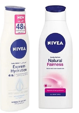 Nivea Natural Fairness & Express Hydration Body Lotion 250ml