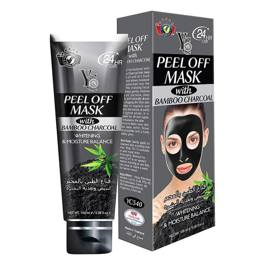 Yc Peel Off Mask With Bamboo Charcoal 100ml (Made in Thailand)