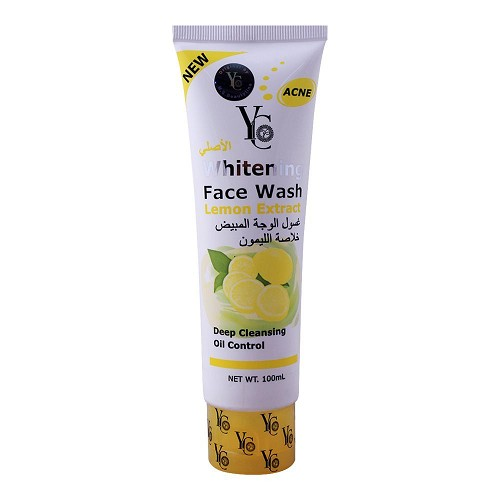 Yc Whitening Face Wash, With Lemon Extract, 100ml