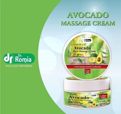 Dr Romia Organic Avocado Rich Massage Cream